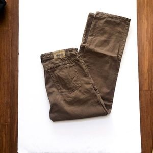 Mens ORVIS 5-Pocket Cotton Twill Canvas Chino Pant